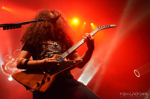 Coheed and Cambria perform In Keeping Secrets of Silent Earth:3 at The Tabernacle in Atlanta.